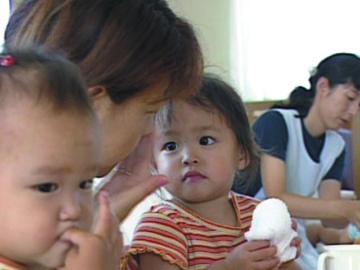 低年齢児の保育