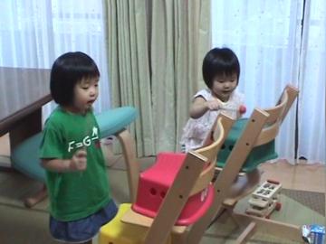 音楽的な遊びに見る乳幼児の発達